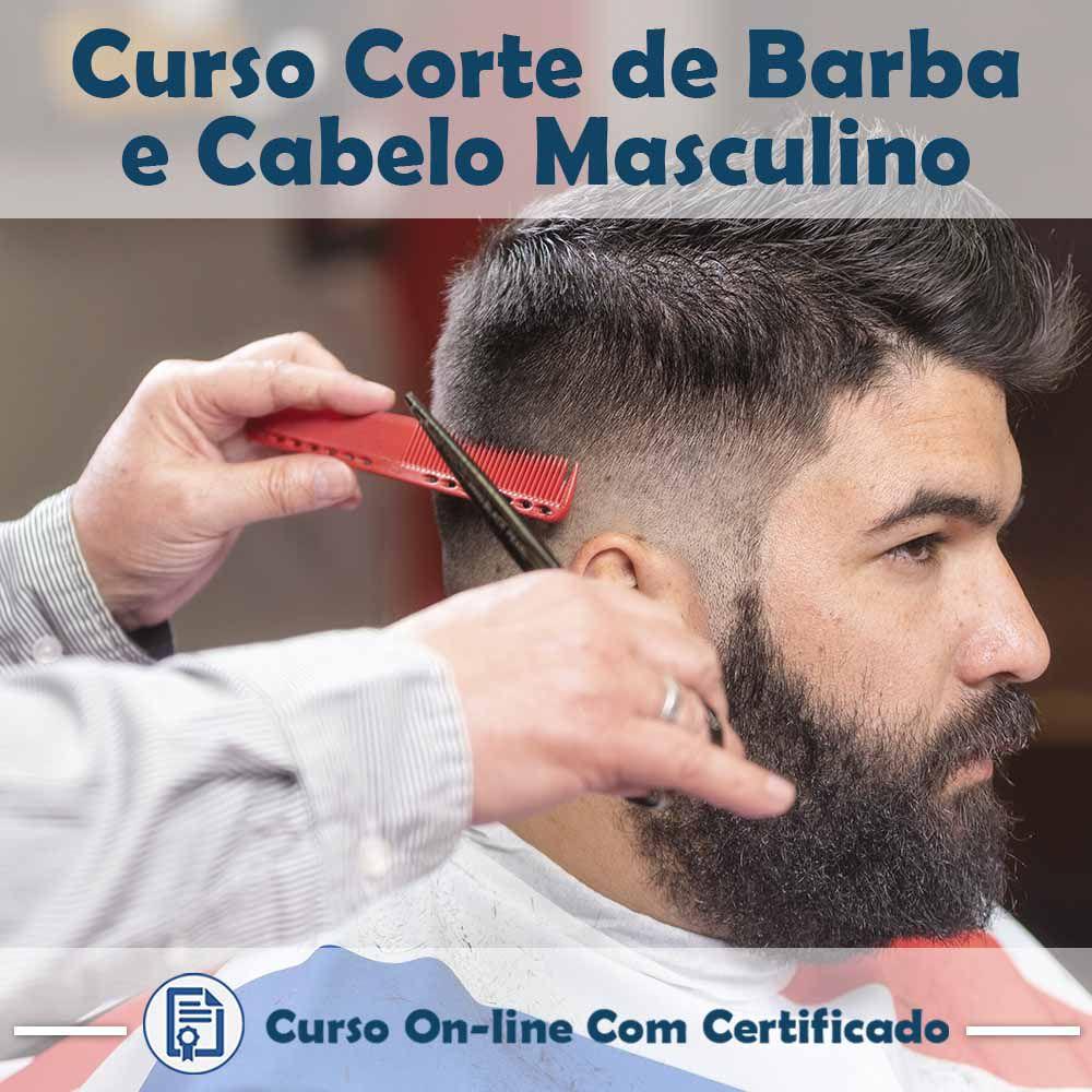 Curso Online de Corte de Barba e Cabelo Masculino com Certificado  - Aprova Cursos