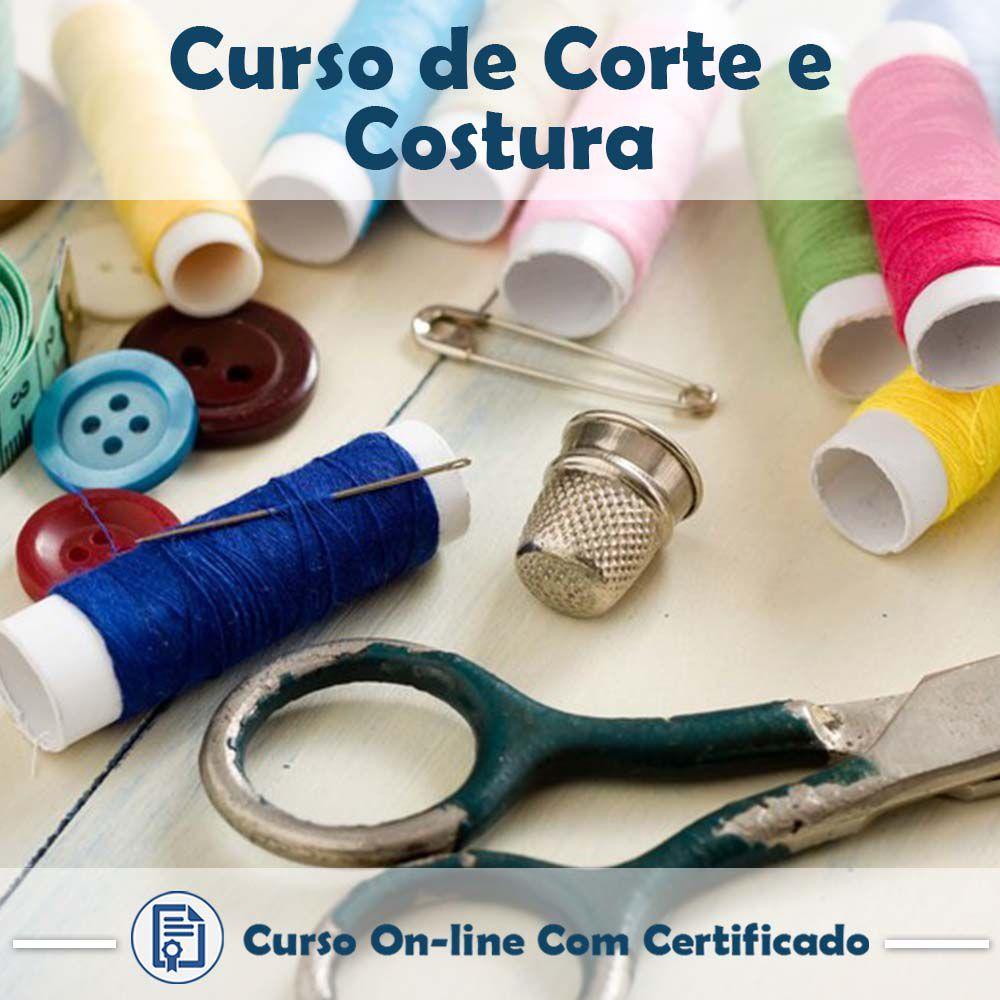 Curso online de Corte e Costura + Certificado  - Aprova Cursos