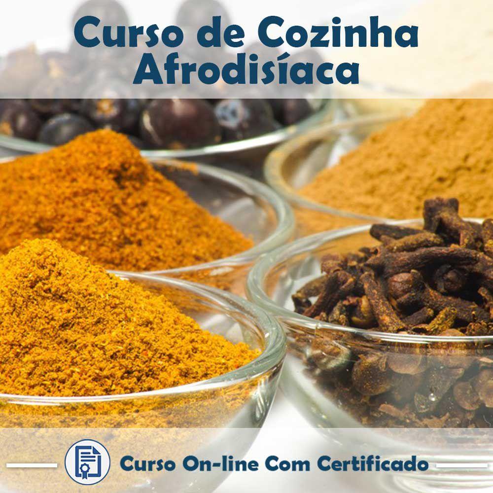 Curso Online de Cozinha Afrodisíaca com Certificado  - Aprova Cursos