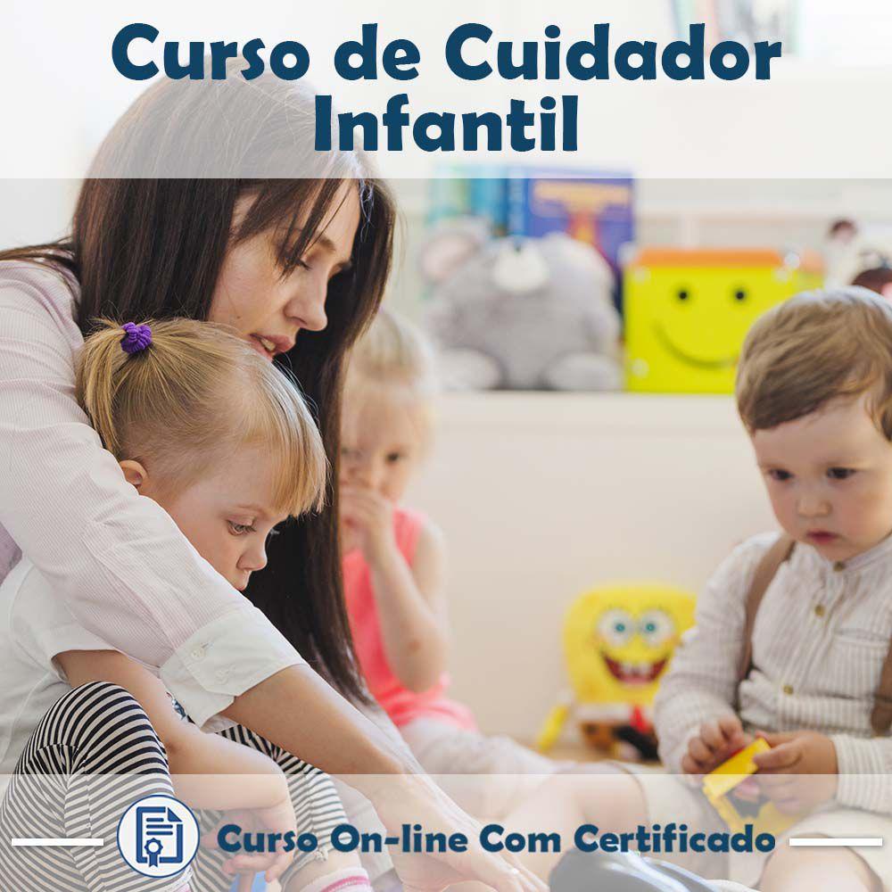 Curso Online de Cuidador Infantil com Certificado