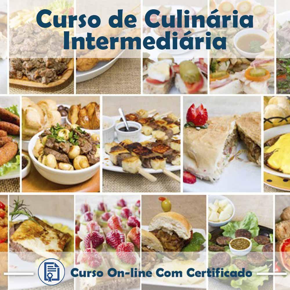 Curso Online de Culinária Intermediária com Certificado  - Aprova Cursos