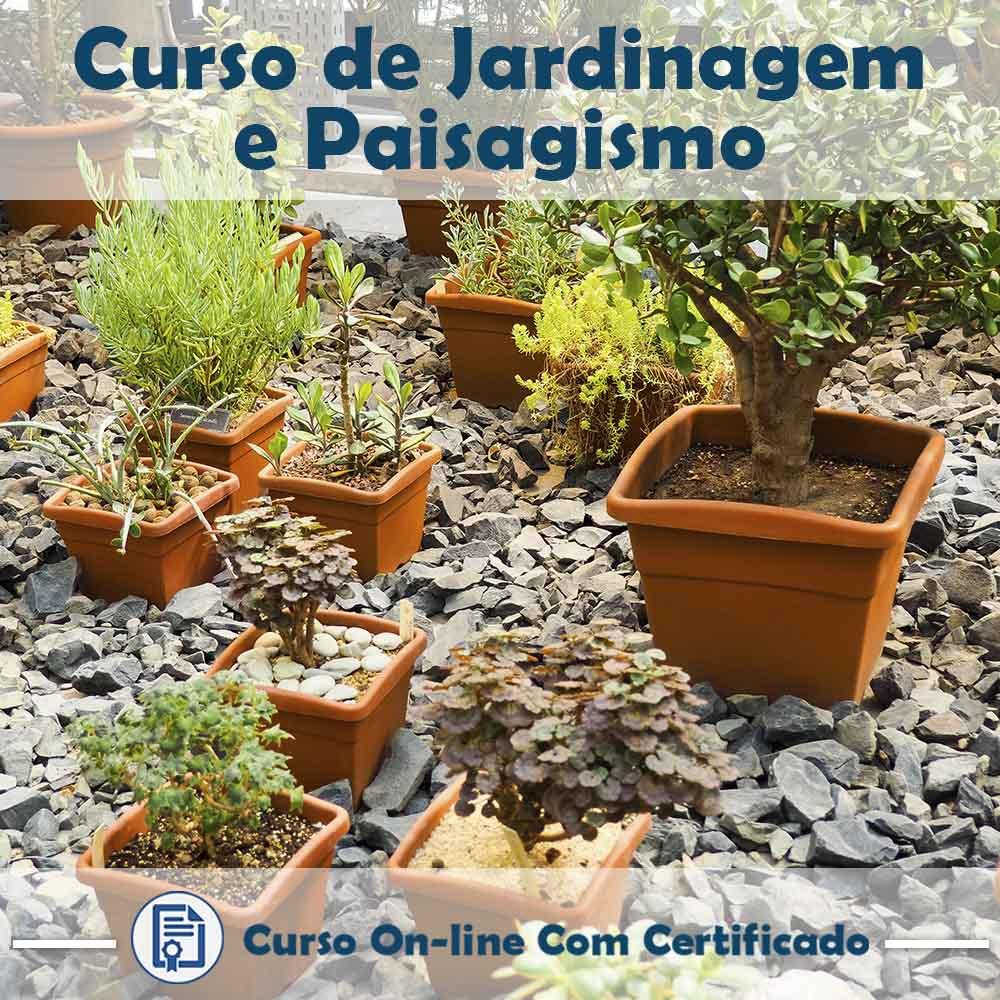 Curso Online de Jardinagem e Paisagismo com Certificado  - Aprova Cursos