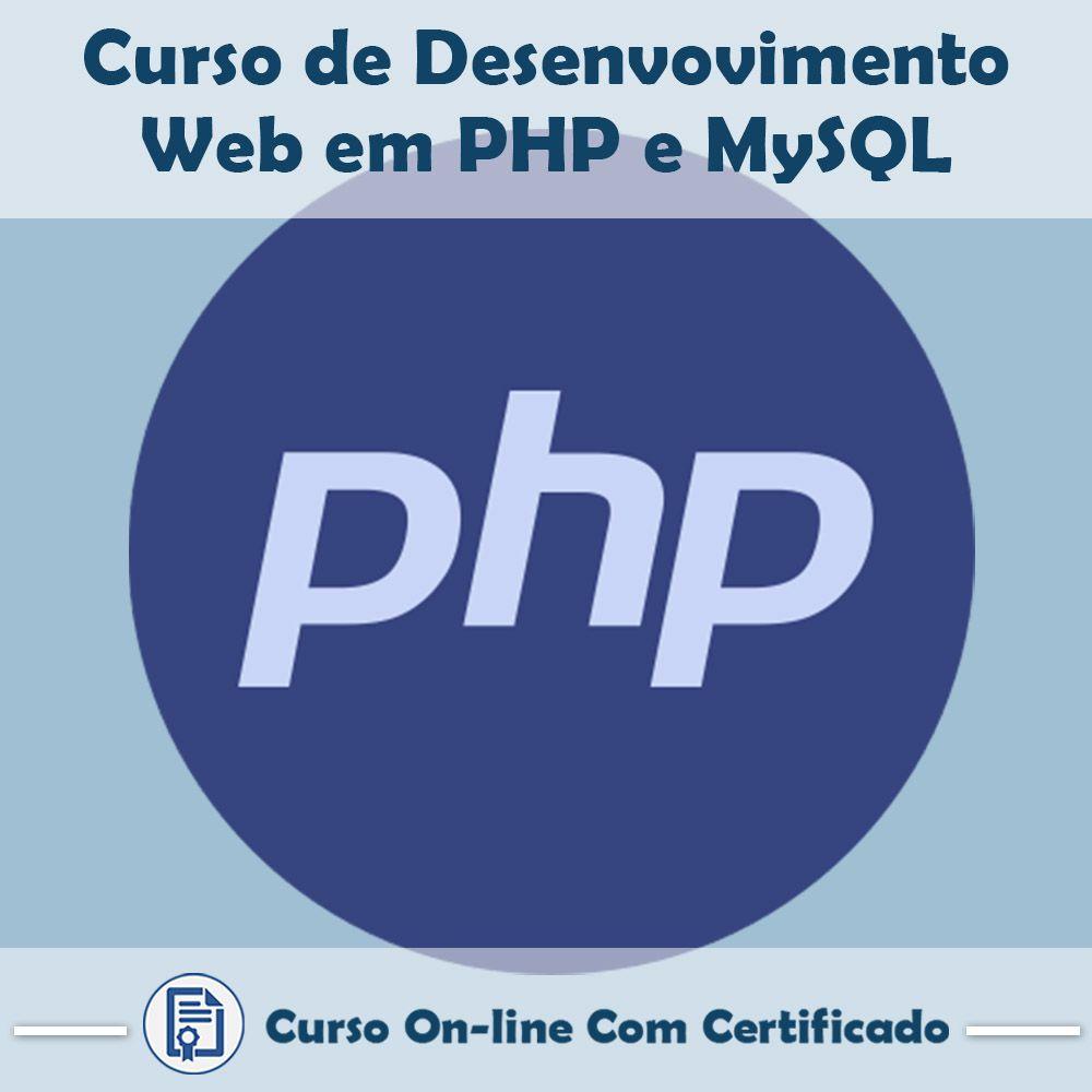 Curso Online de Desenvolvimento Web com PHP e MySQL com Certificado  - Aprova Cursos