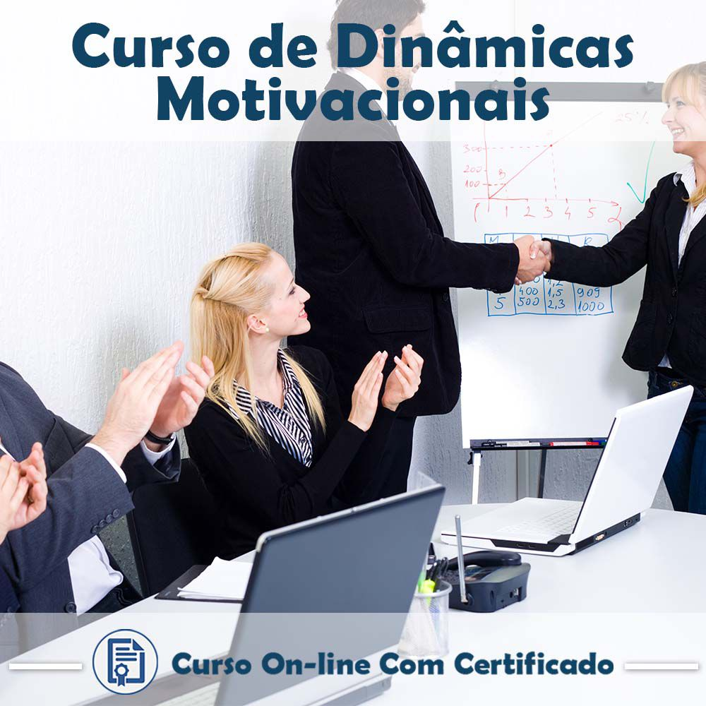 Curso Online de Dinâmicas Motivacionais com Certificado