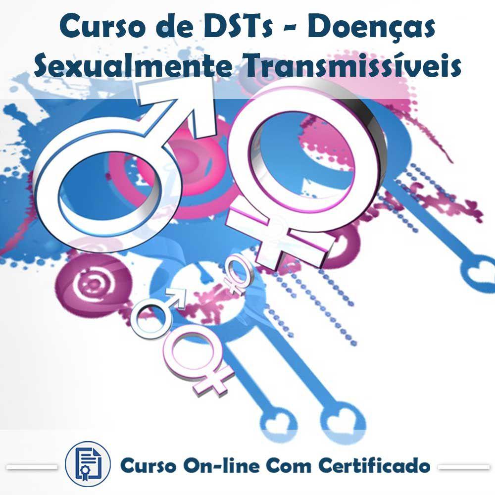 Curso Online de DST´S – Doenças Sexualmente Transmissíveis com Certificado