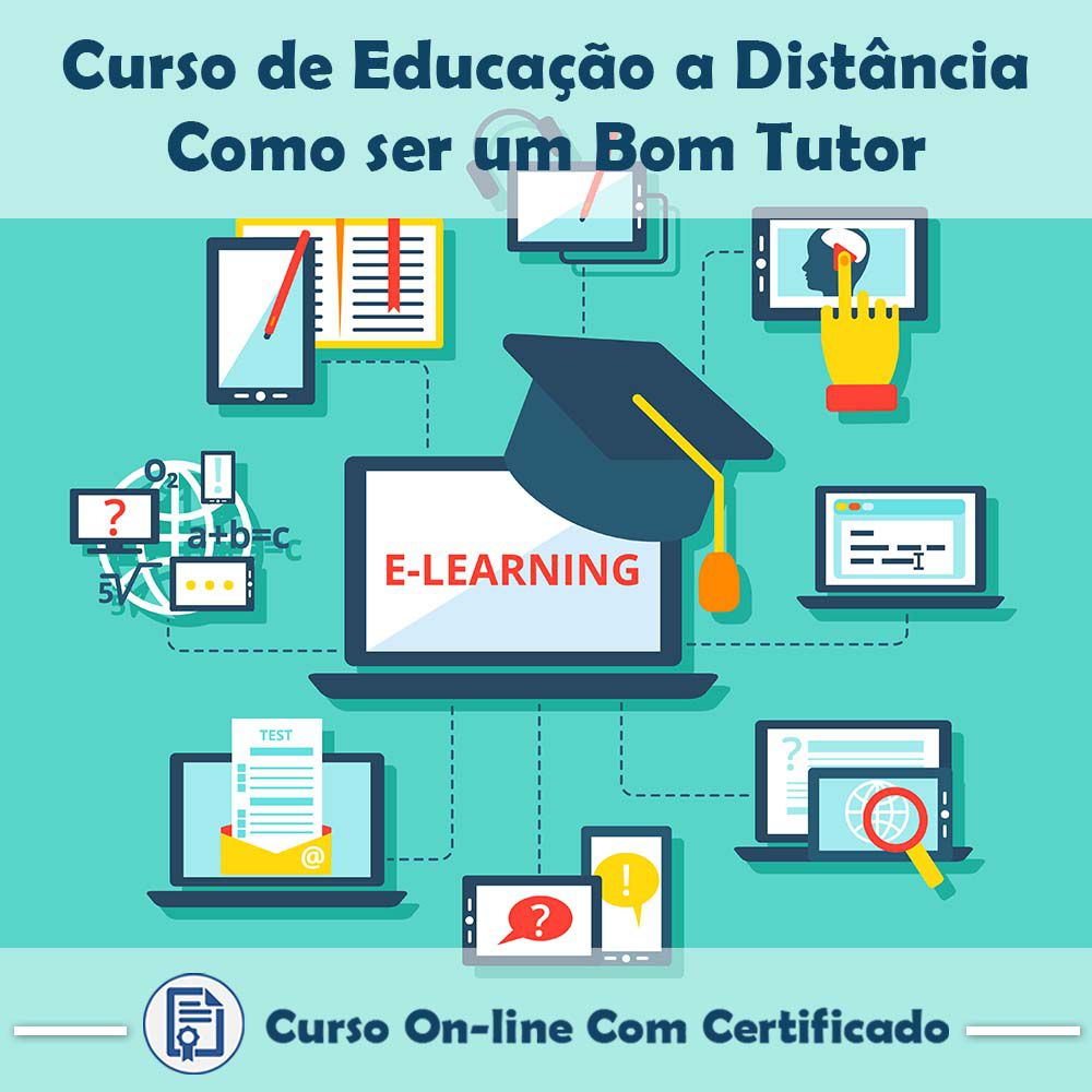 Curso Online de Educação a Distância – Como Ser Um Bom Tutor com Certificado  - Aprova Cursos