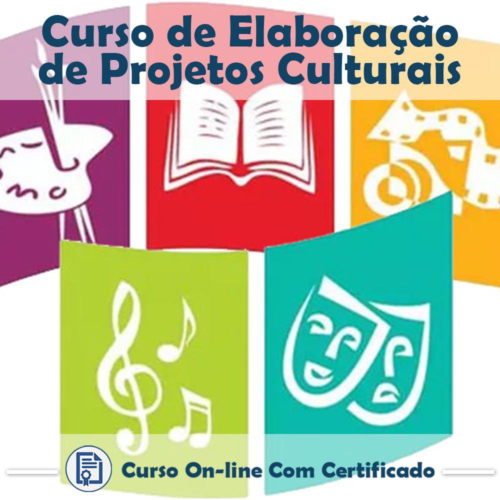 Curso Online de Elaboração de Projetos Culturais com Certificado  - Aprova Cursos