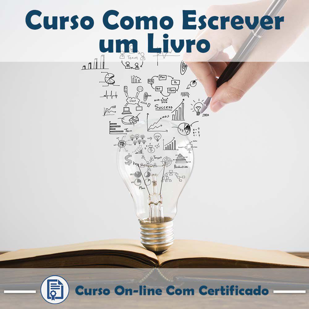 Curso Online Como Escrever um Livro com Certificado  - Aprova Cursos