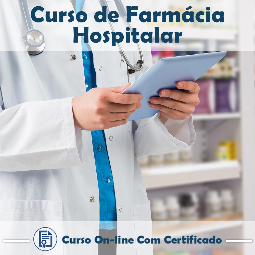 Curso Online de Farmácia Hospitalar com Certificado