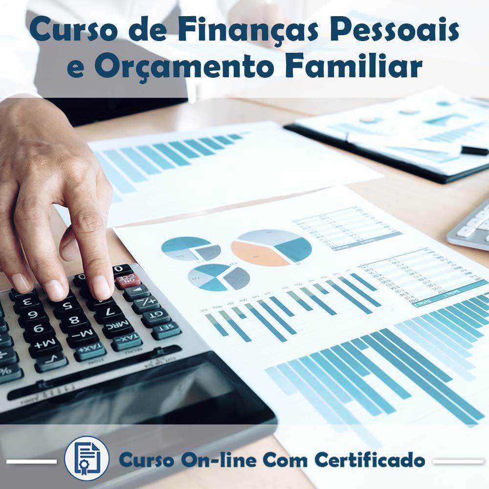 Curso Online de Finanças Pessoais e Orçamento Familiar com Certificado  - Aprova Cursos