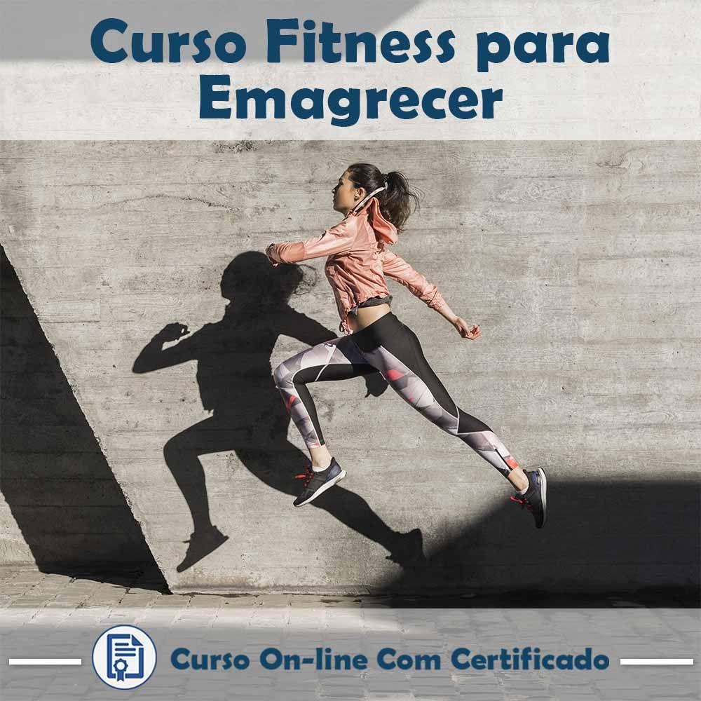 Curso Online de Fitness para Emagrecer com Certificado  - Aprova Cursos