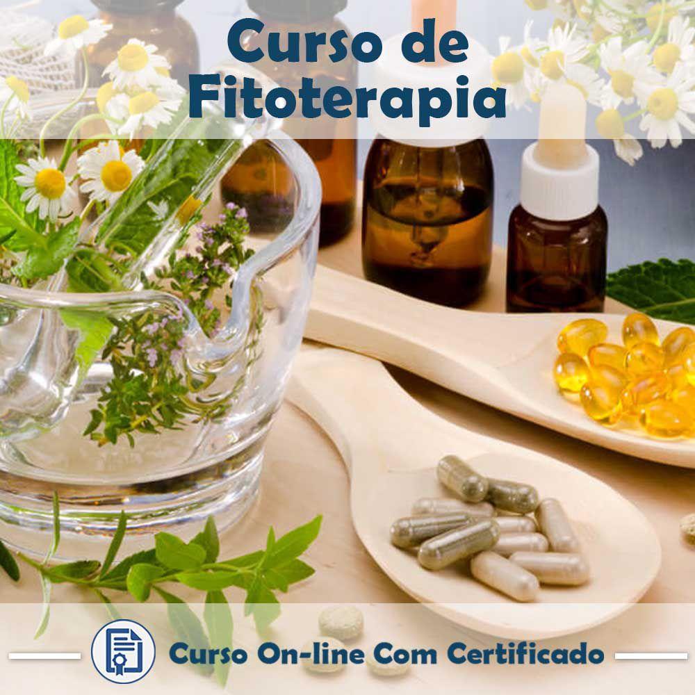 Curso Online de Fitoterapia com Certificado  - Aprova Cursos