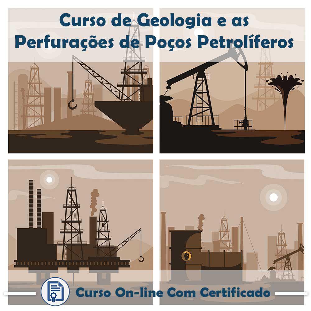 Curso Online de Geologia e as Perfurações de Poços Petrolíferos com Certificado