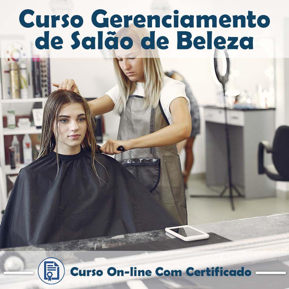 Curso Online de Gerenciamento de Salão de Beleza com Certificado