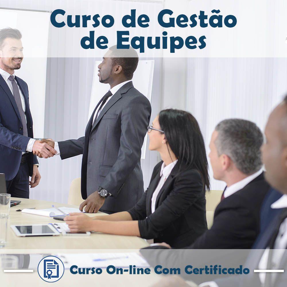 Curso Online de Gestão de Equipes com Certificado