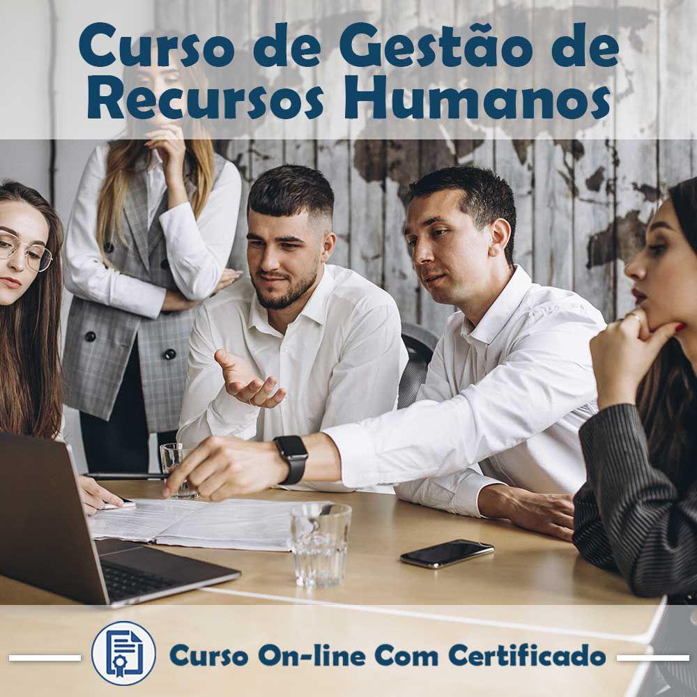Curso Online de Gestão de Recursos Humanos com Certificado  - Aprova Cursos