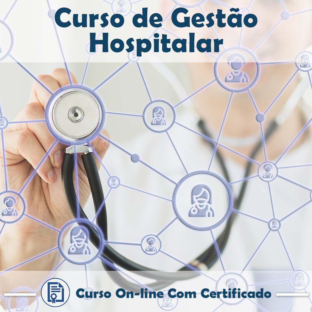 Curso Online de Gestão Hospitalar + Certificado  - Aprova Cursos