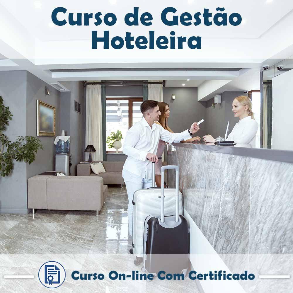 Curso online de Gestão Hoteleira + Certificado