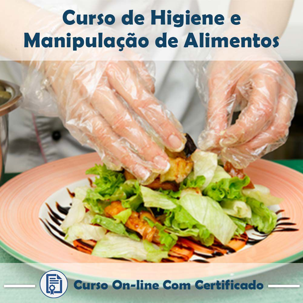 Curso Online de Higiene e Manipulação de Alimentos com Certificado