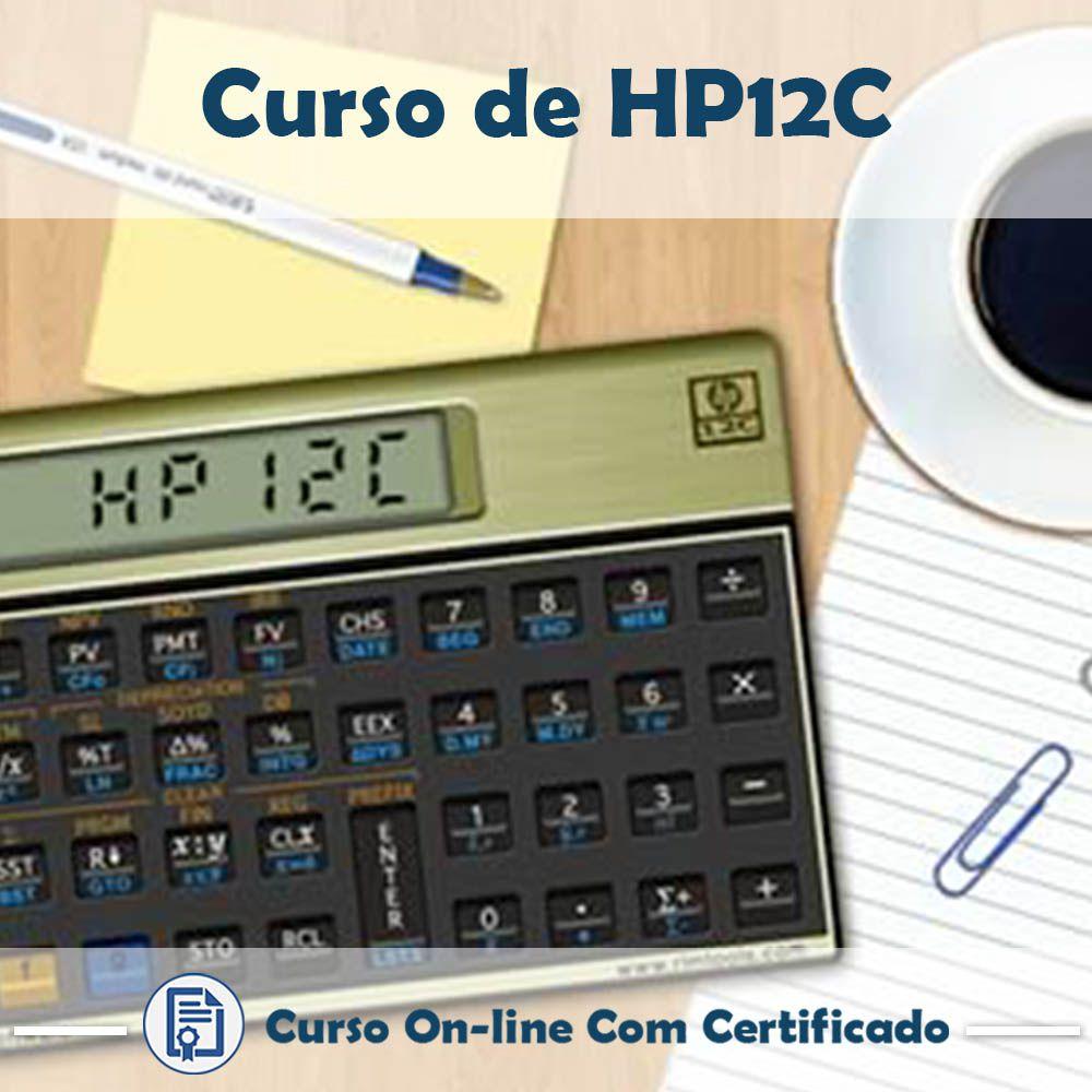 Curso Online de HP12C com Certificado  - Aprova Cursos