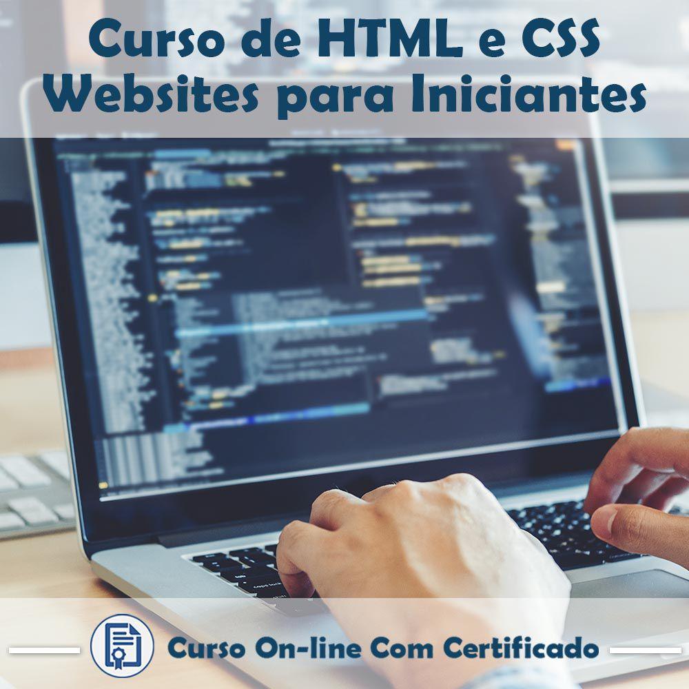 Curso Online de HTML e CSS – Websites Para Iniciantes com Certificado  - Aprova Cursos