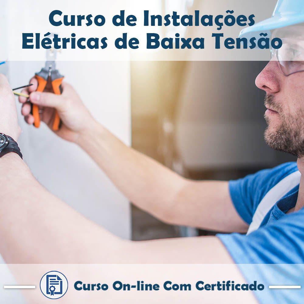 Curso Online de Instalações Elétricas de Baixa Tensão com Certificado