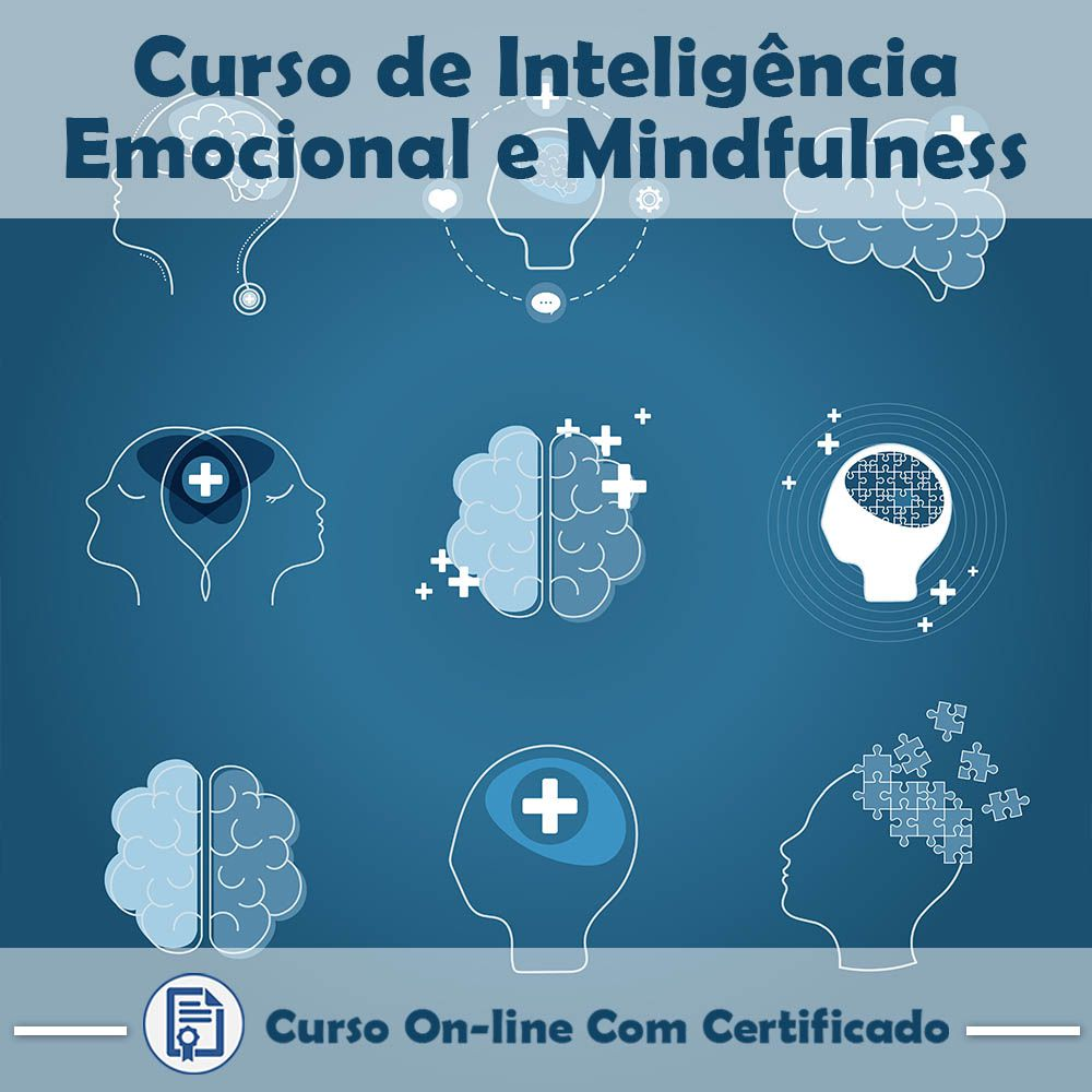 Curso Online de Inteligência Emocional e Mindfulness com Certificado  - Aprova Cursos