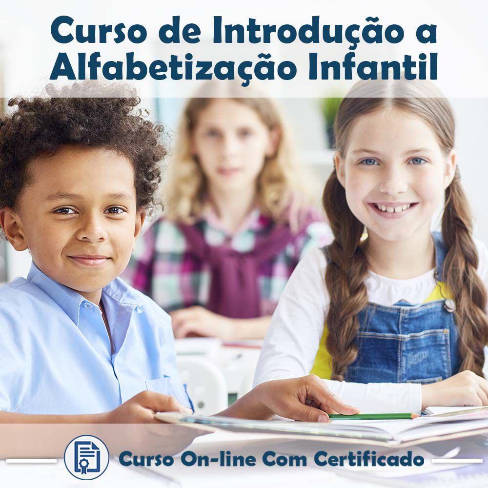 Curso Online de Introdução a Alfabetização Infantil com Certificado