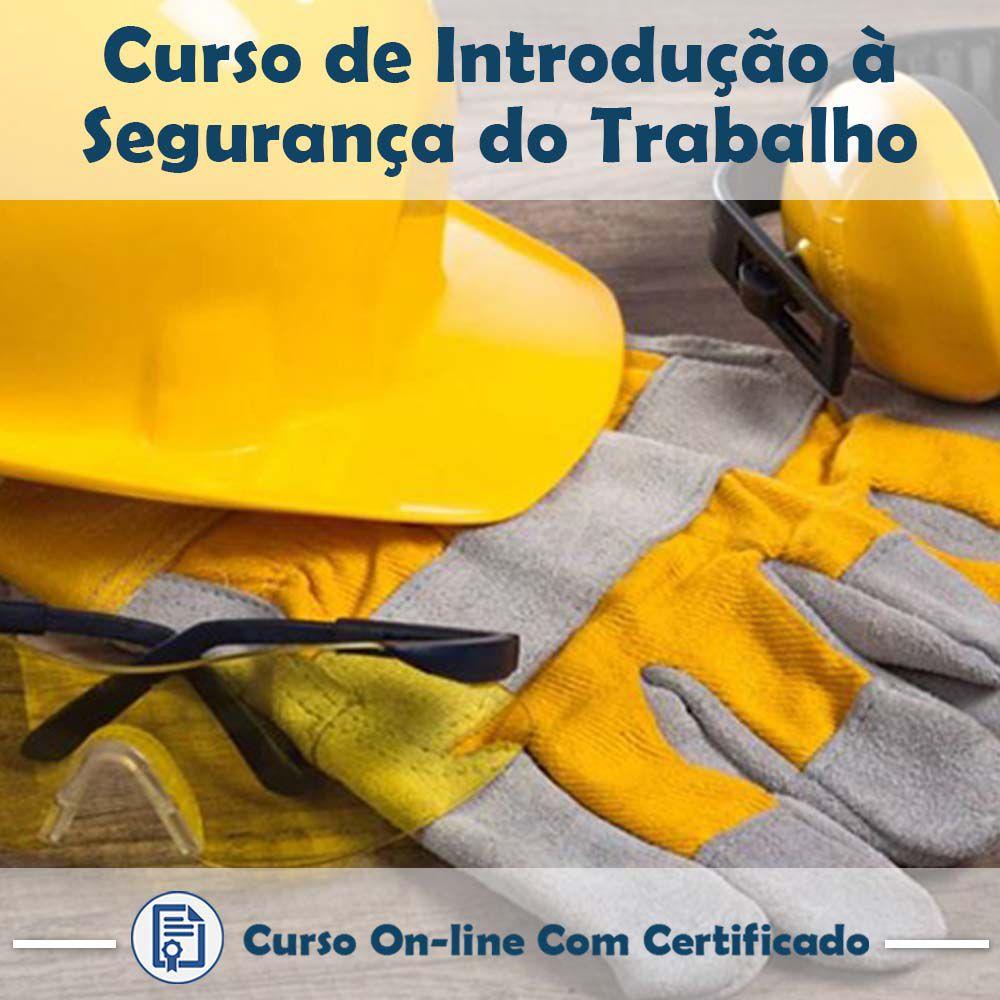 Curso Online de Introdução à Segurança do Trabalho com Certificado