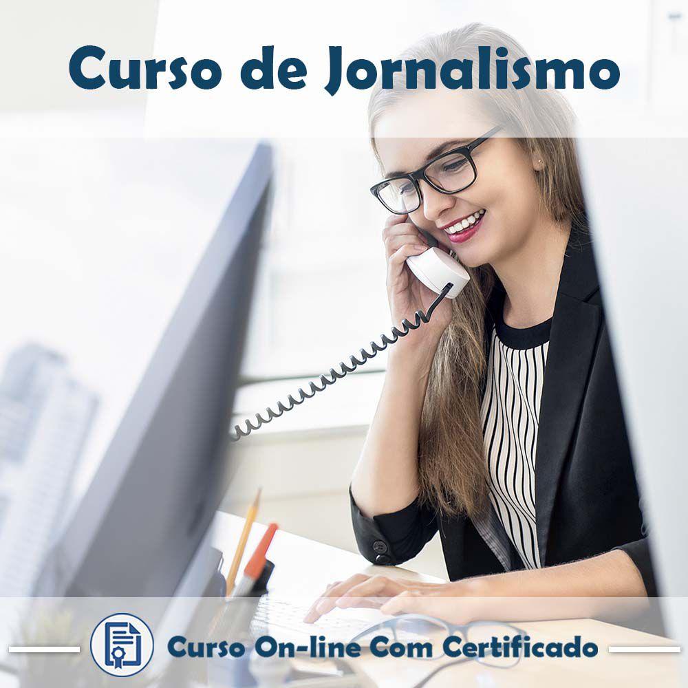 Curso online de Jornalismo + Certificado
