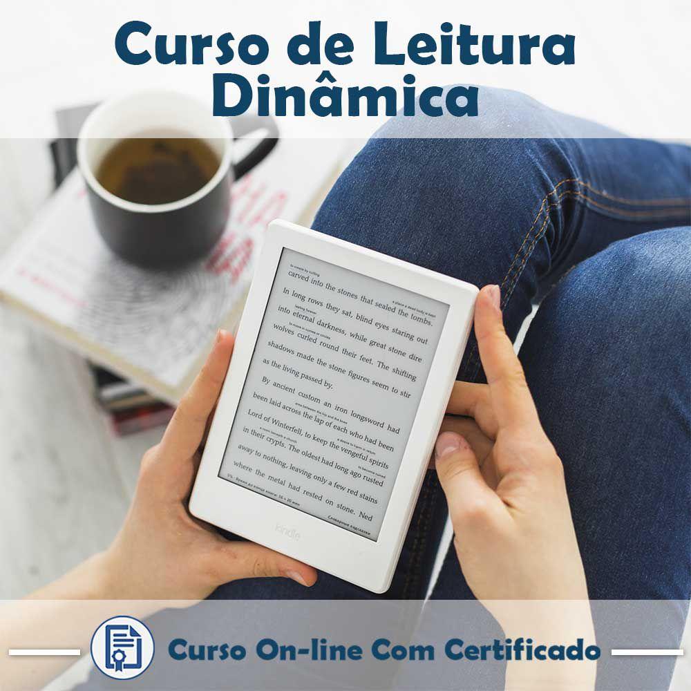 Curso Online de Leitura Dinâmica com Certificado  - Aprova Cursos