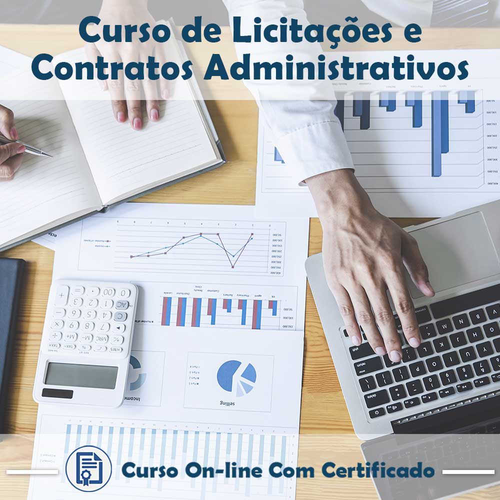 Curso Online de Licitações e Contratos Administrativos com Certificado