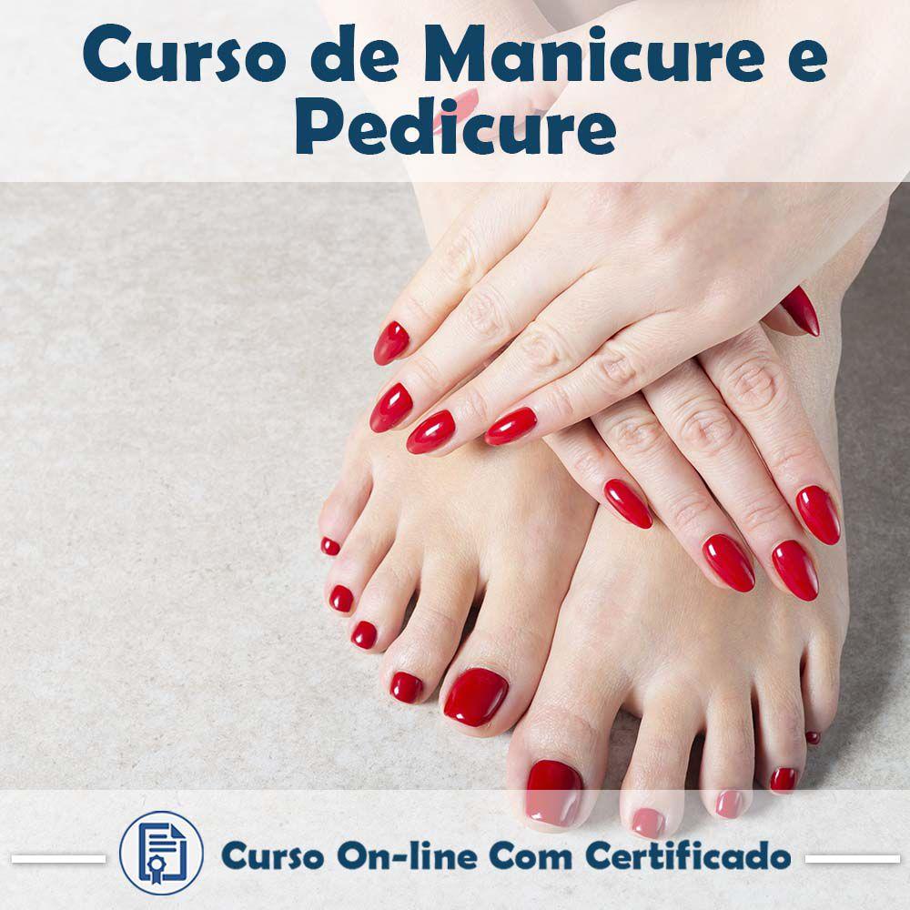 Curso Online de Manicure e Pedicure com Certificado  - Aprova Cursos