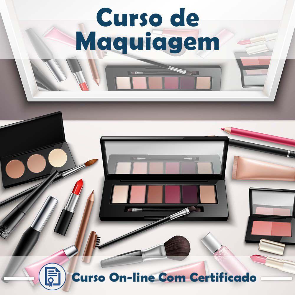 Curso Online de Maquiagem com Certificado