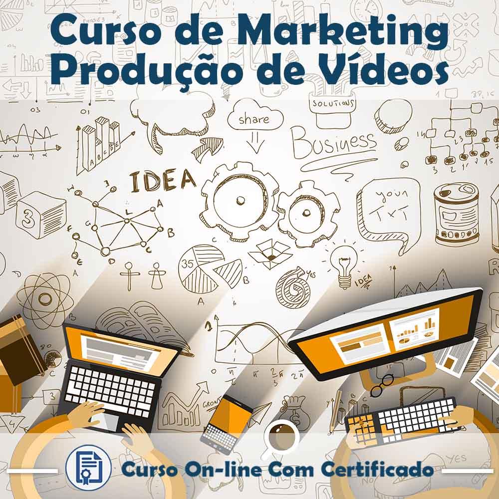 Curso Online de Marketing com Vídeos com Certificado