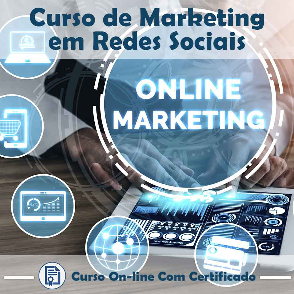 Curso Online de Marketing em Redes Sociais com Certificado