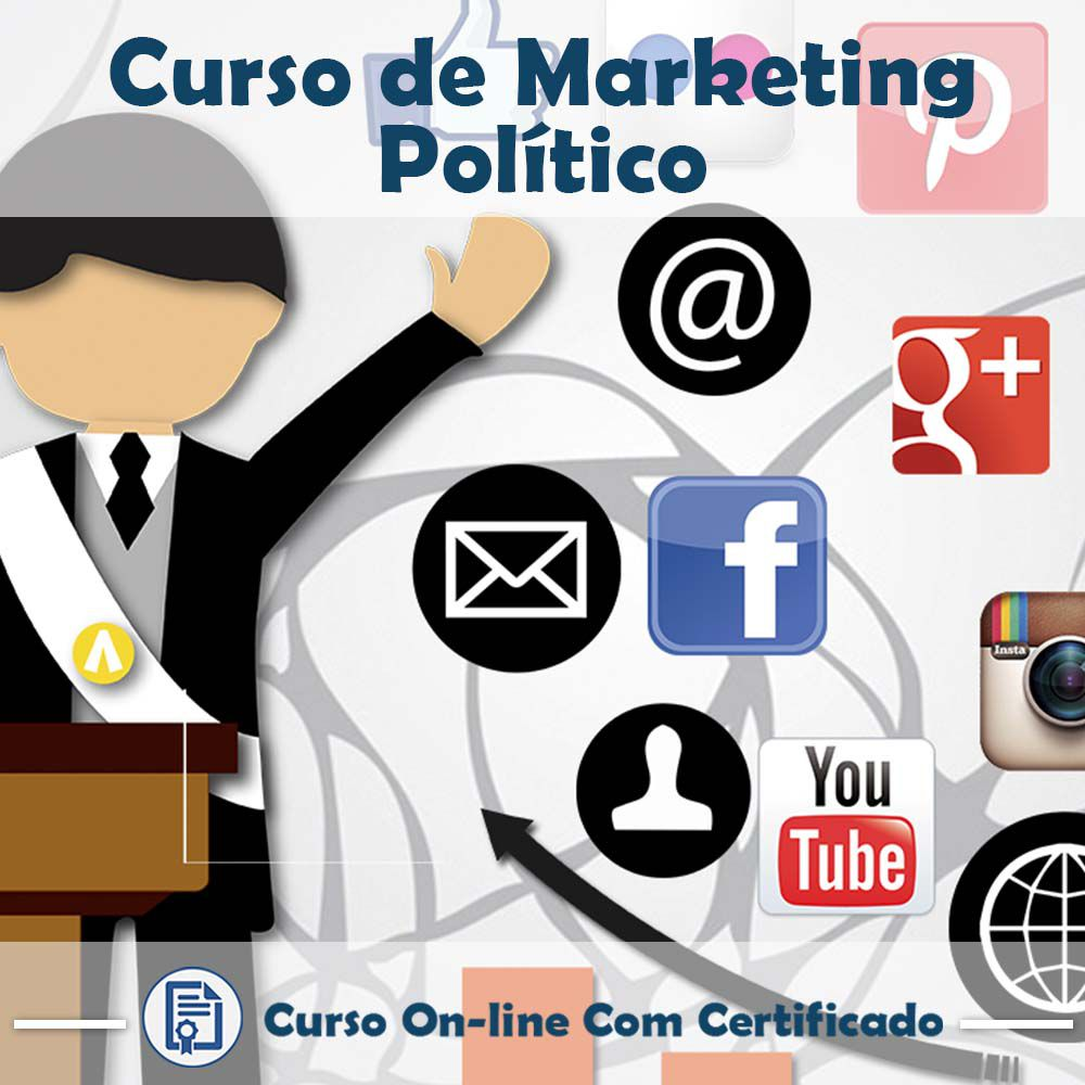 Curso online de Marketing Político + Certificado