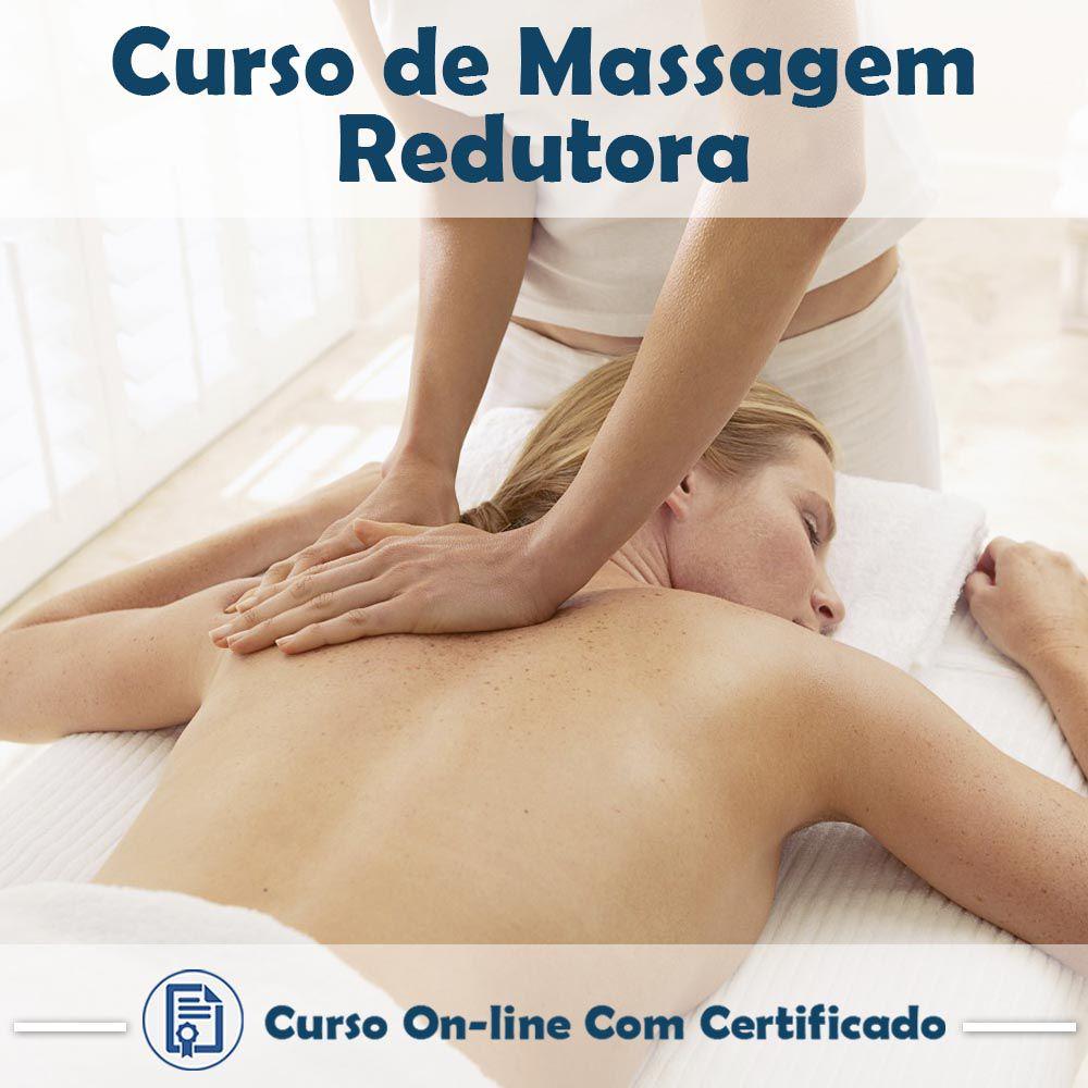 Curso online de Massagem Redutora + Certificado  - Aprova Cursos