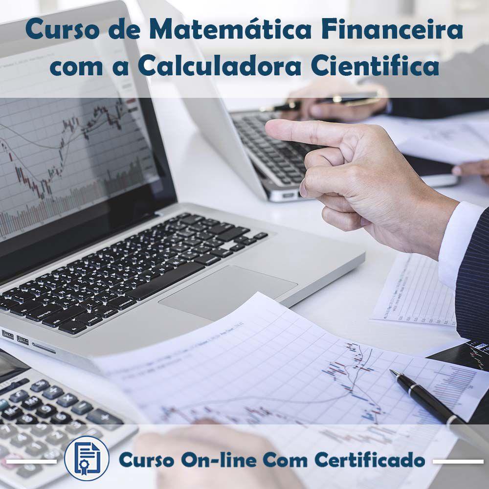 Curso Online de Matemática Financeira com a Calculadora Científica com Certificado  - Aprova Cursos