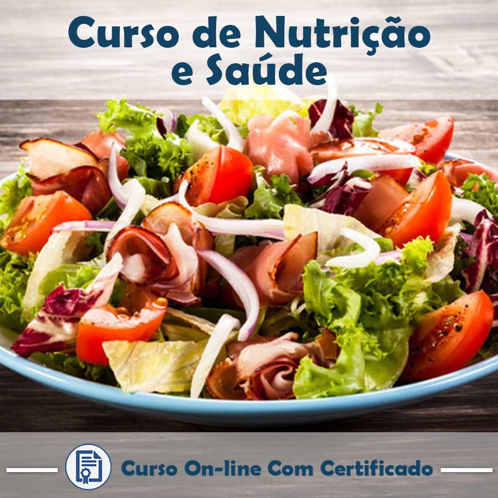 Curso Online de Nutrição e Saúde com Certificado