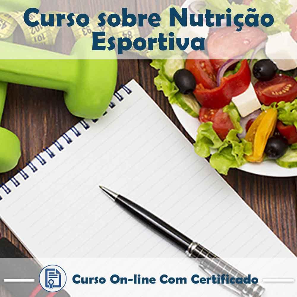 Curso online de Nutrição Esportiva + Certificado