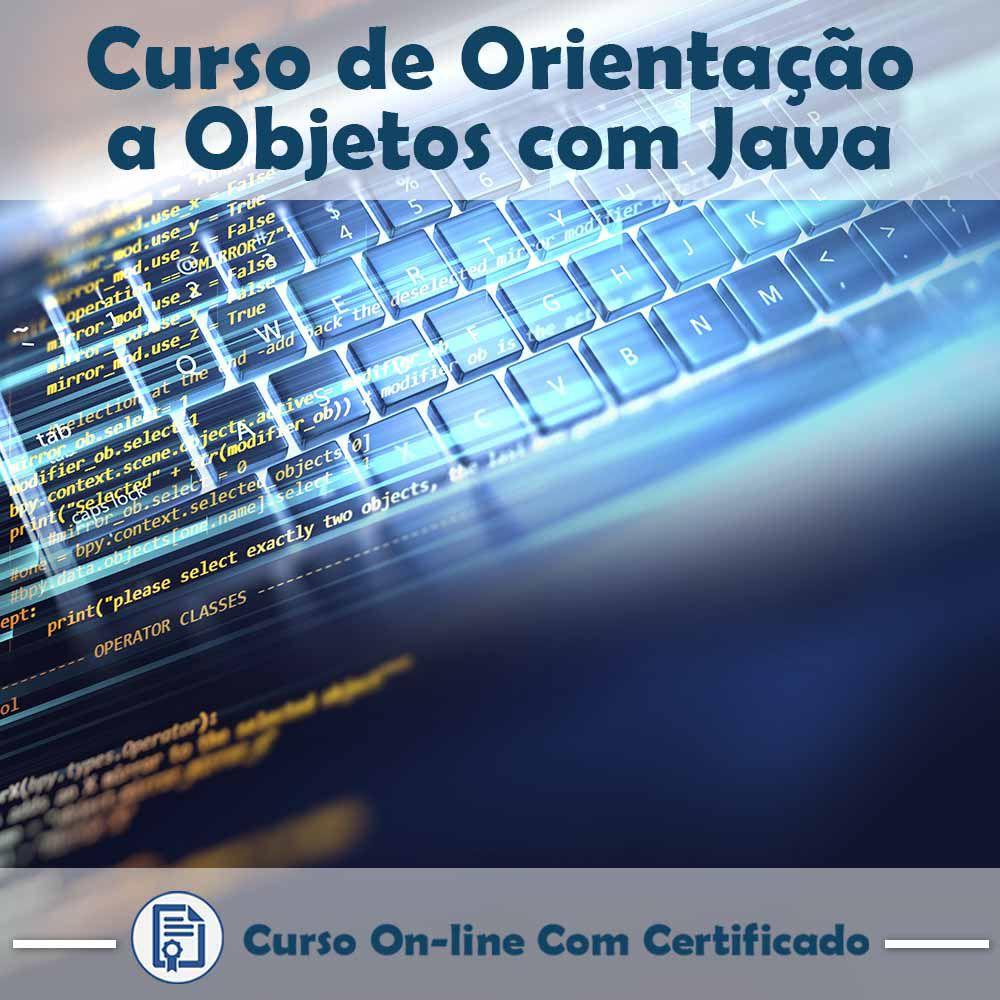 Curso Online de Orientação a Objetos com Java com Certificado  - Aprova Cursos