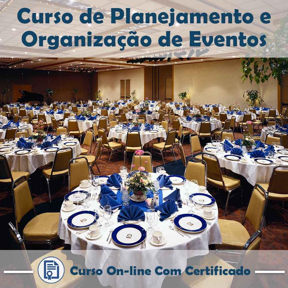 Curso Online de Planejamento e Organização de Eventos com Certificado
