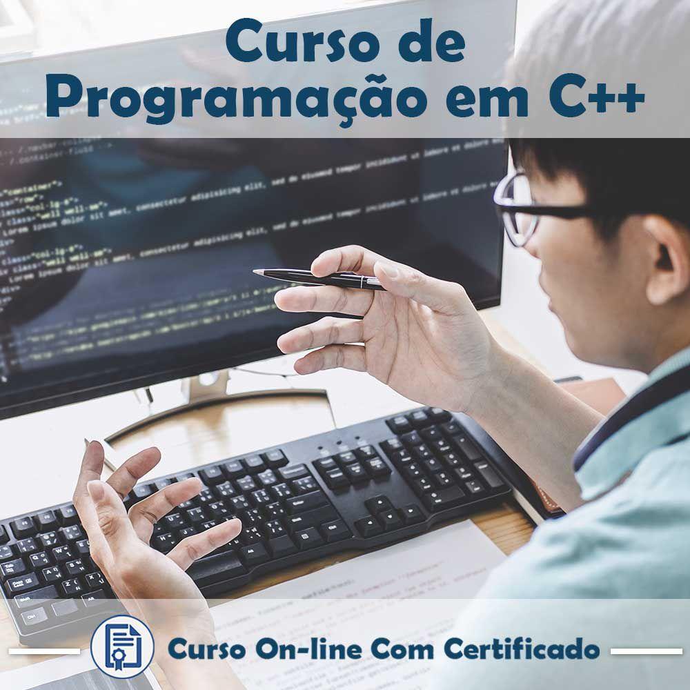 Curso Online de Programação em C++ com Certificado