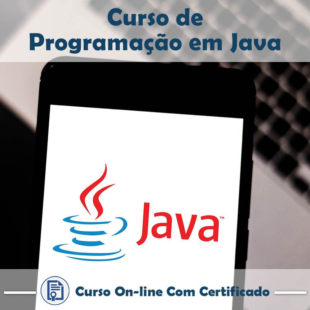 Curso Online de Programação em Java com Certificado
