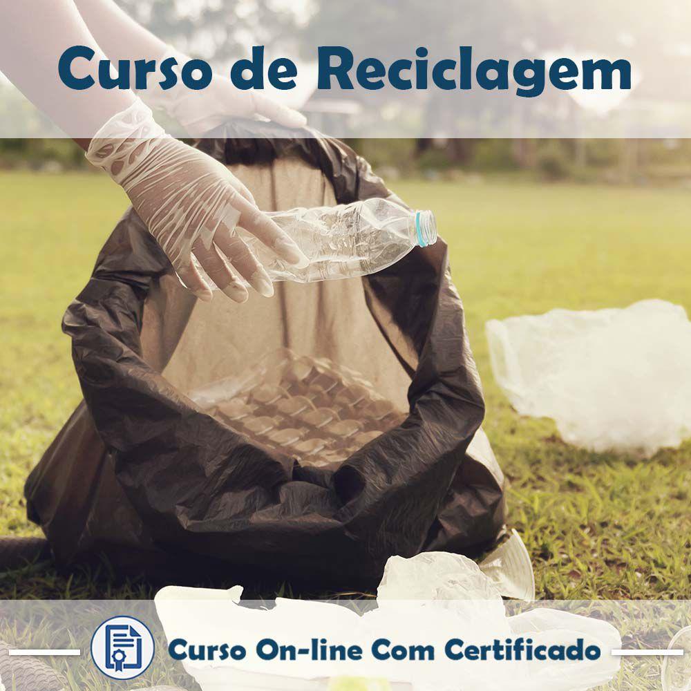 Curso Online de Reciclagem com Certificado