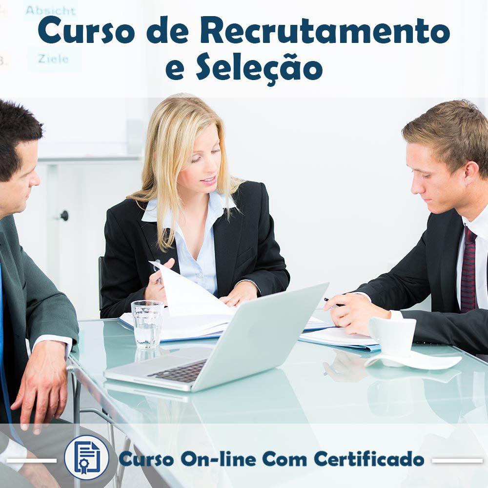 Curso Online de Recrutamento e Seleção de Pessoas com Certificado