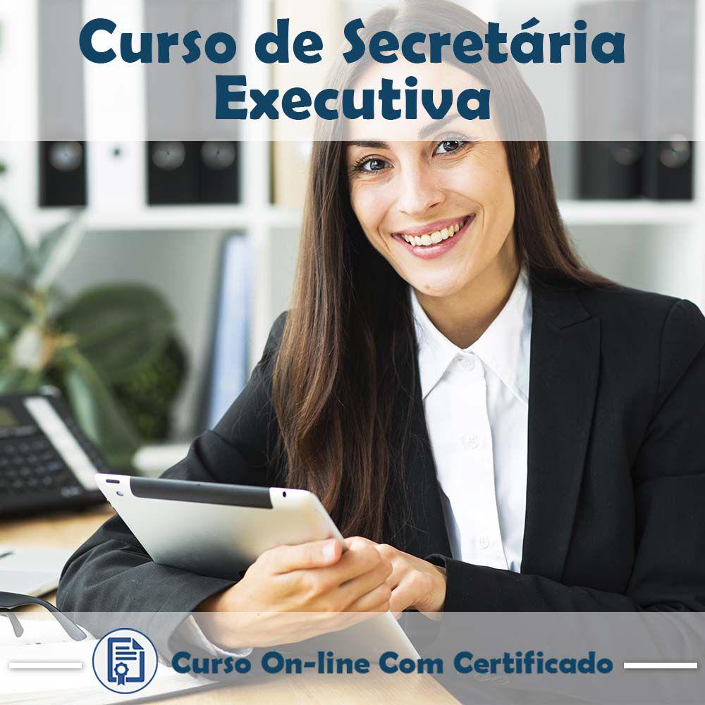 Curso Online de Secretária Executiva com Certificado  - Aprova Cursos
