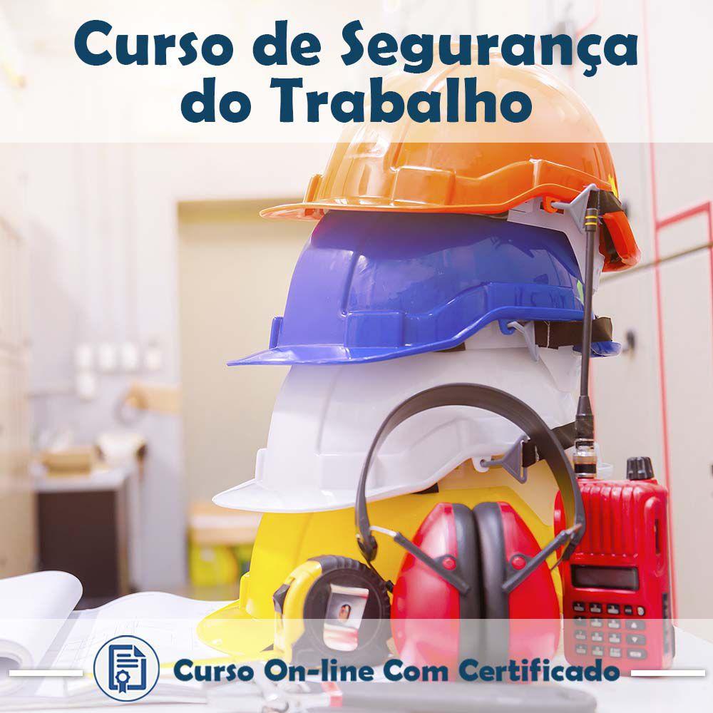 Curso online de Segurança do Trabalho + Certificado