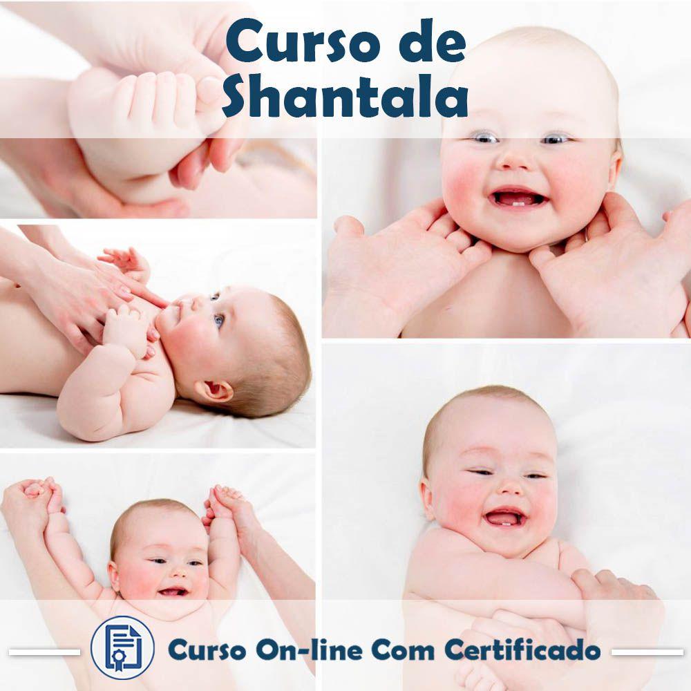 Curso Online de Shantala Com Certificado